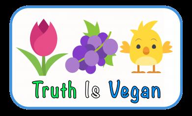 Truth Is Vegan Logo